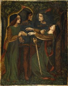 Dante Gabriel Rossetti   How They Met Themselves 1860 64 Circa 238x300, Planeta Incógnito