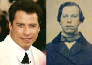 Meses después también en ebay, apareció una foto antigua de alguien parecido a John Travolta