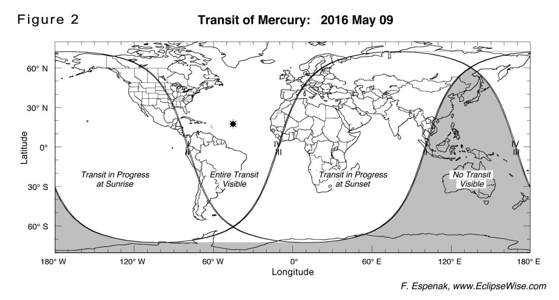 El tránsito de Mercurio 2016 – En directo