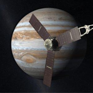 La Sonda Juno de la NASA llega a Júpiter
