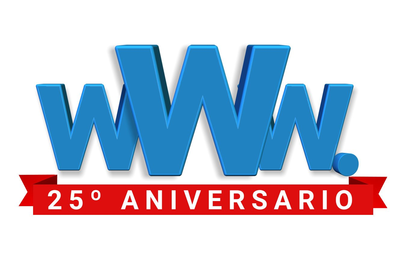 FELIZ 25 CUMPLEAÑOS WORLD WIDE WEB