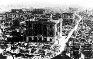 Destrucción tras el Gran Terremoto de Kanto (Tokio, 1923)
