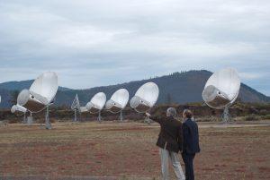 Fotografía del Conjunto de Telescopios Allen Fotografía de Colby Gutierrez-Kraybil