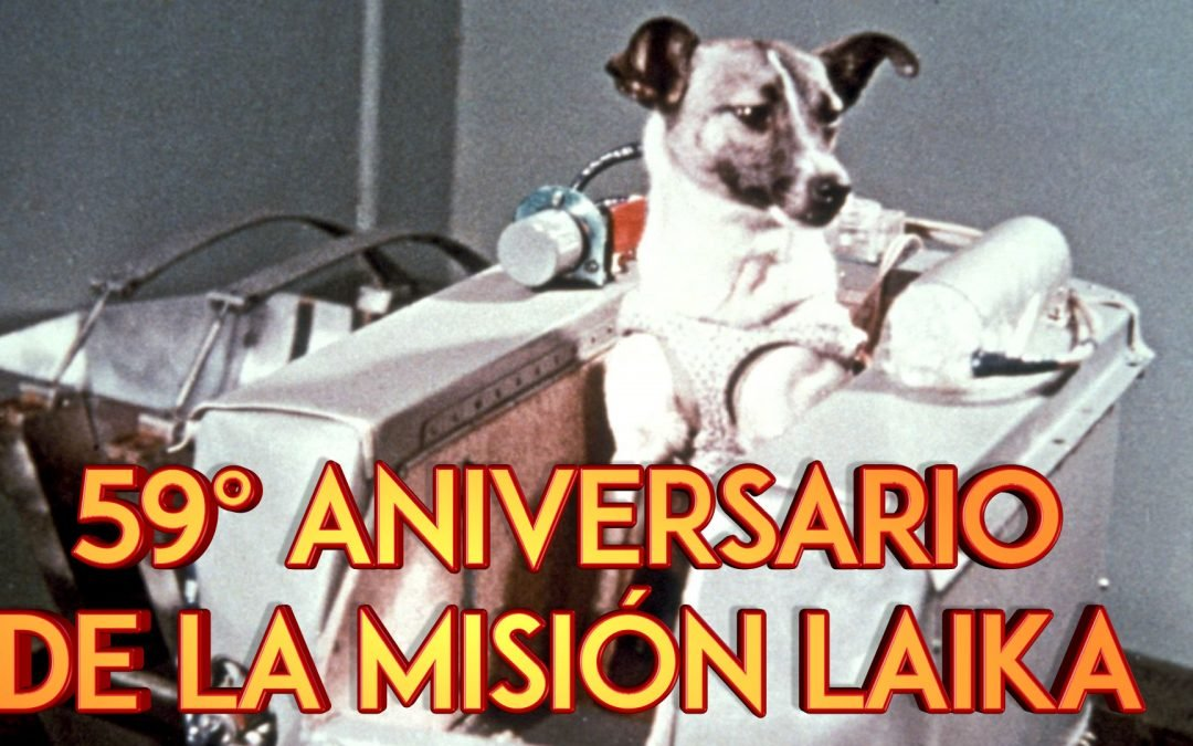 Animales en el Espacio. Aniversario del lanzamiento de Laika