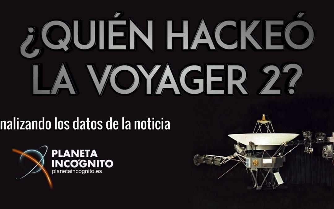 ¿Quién tomó realmente el control de la Sonda Voyager 2?