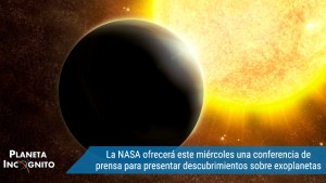 La NASA ofrecerá este miércoles una conferencia de prensa para presentar nuevos descubrimientos sobre exoplanetas 1