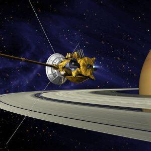 Google dedica su doodle a la llegada de la sonda Cassini a los anillos de Saturno