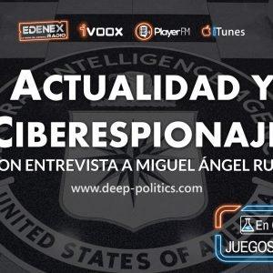 3×11 Noticias, Ciencia, Wikileaks & C.I.A: Conspiración y Ciberespionaje con Miguel Ángel Ruiz (Radio)