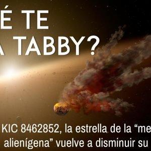 """La estrella de la """"megaestructura alienígena"""" vuelve a disminuir su luminosidad"""