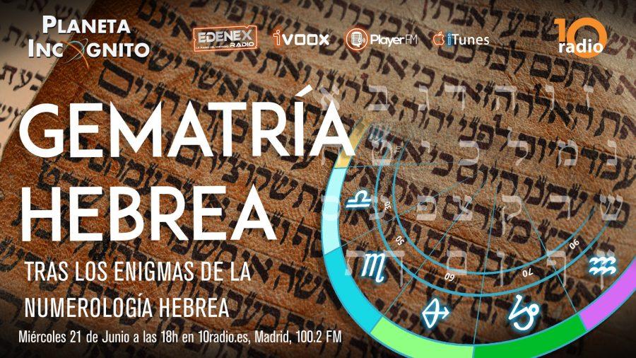 Programa 1×13 Gematría y numerología hebrea
