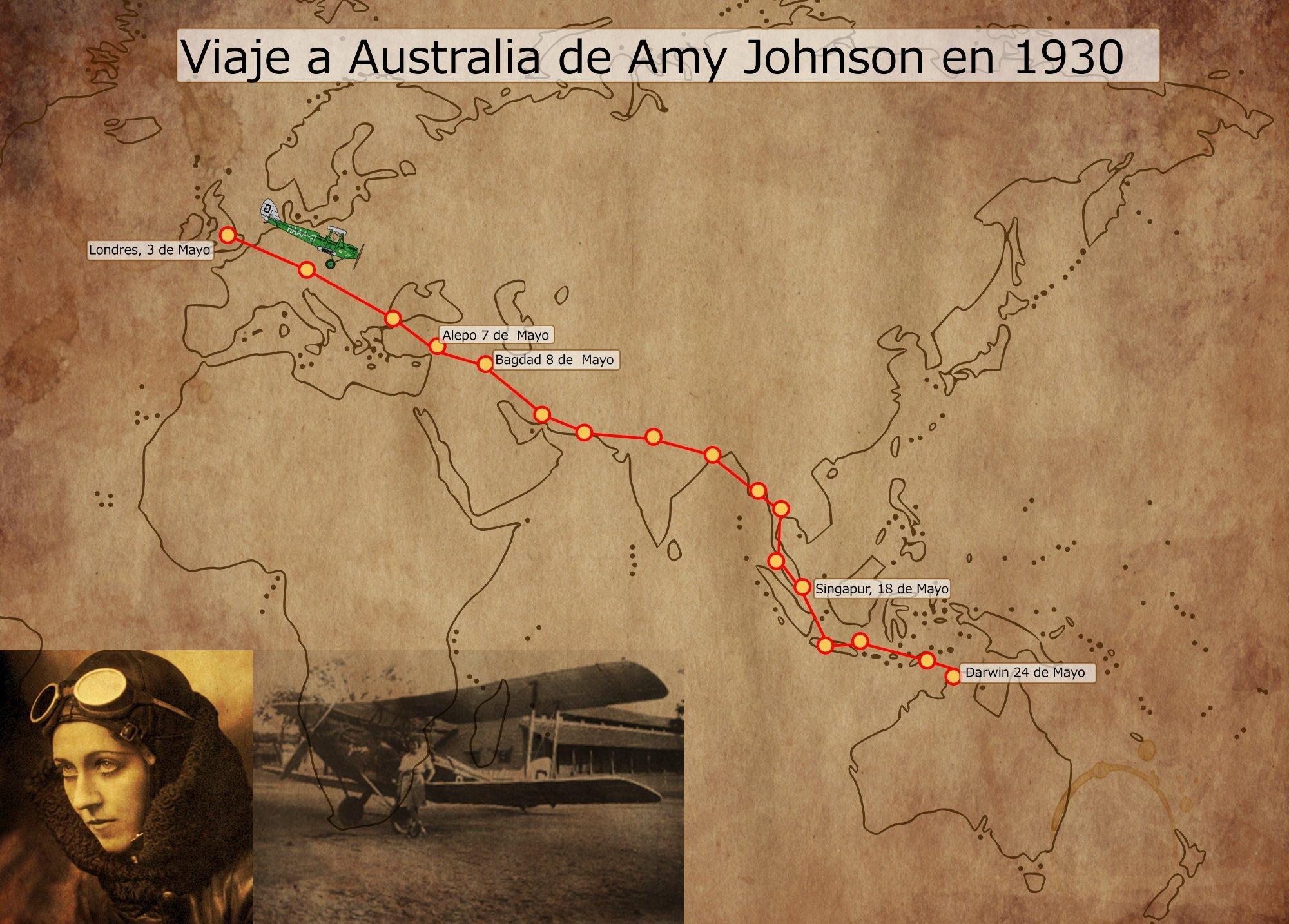 Amy Johnson, misterio y aniversario de la intrépida pionera de la aviación 7