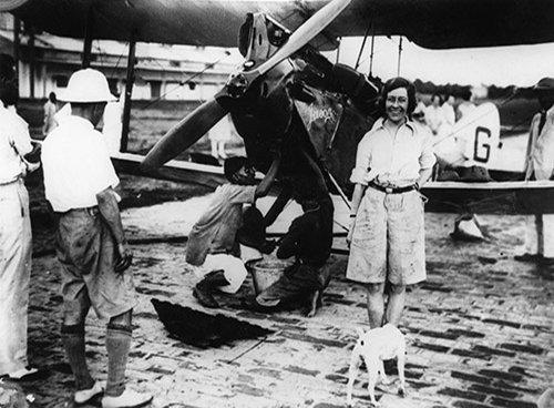 Amy Johnson, misterio y aniversario de la intrépida pionera de la aviación 6