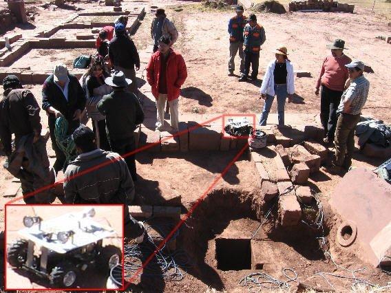 Tiwanaku Robot 20060613 0470, Planeta Incógnito
