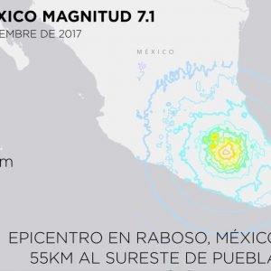 Un terremoto de Magnitud 7.1 golpea México y erupciona el Popocatépetl. Conspiraciones en la red