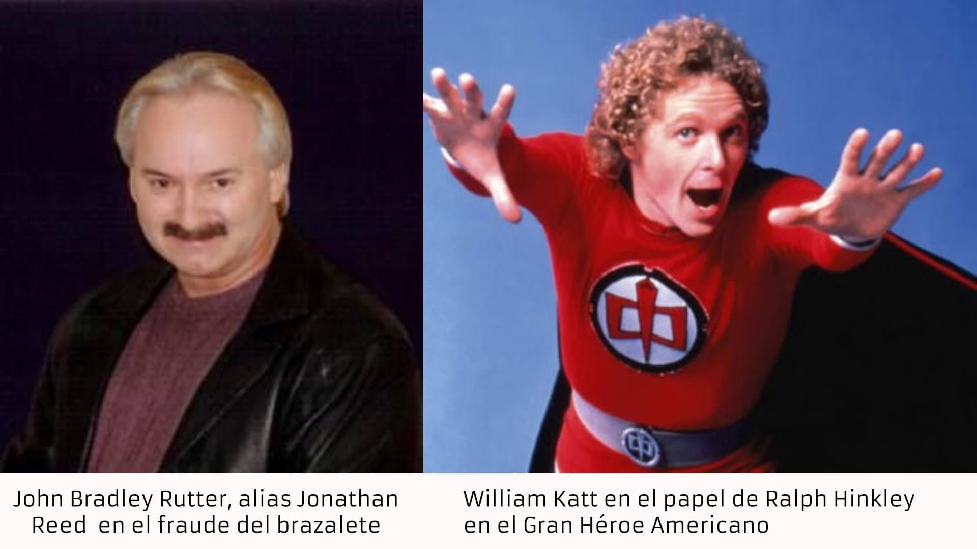 Jonathan Reed Vs William Katt, Planeta Incógnito
