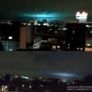 Qué son las Luces en el cielo vistas durante el terremoto de México
