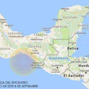Un fuerte terremoto de Magnitud 8.4 en la Escala Richter sacude México