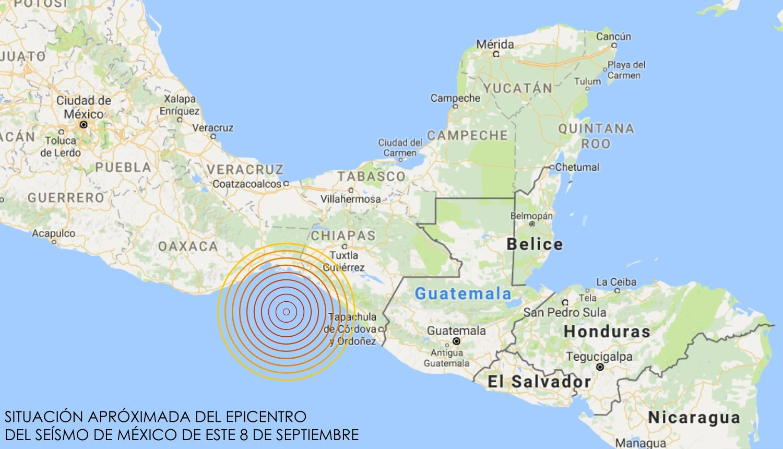 Un fuerte terremoto de Magnitud 8.4 en la Escala Richter sacude México 1