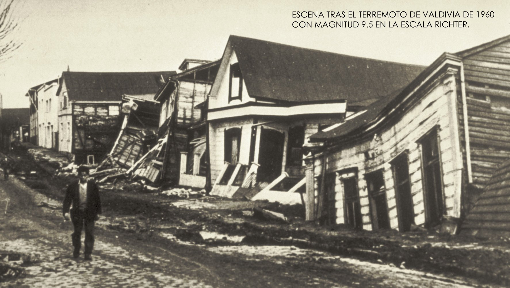 Terremoto De Valdivia, Planeta Incógnito