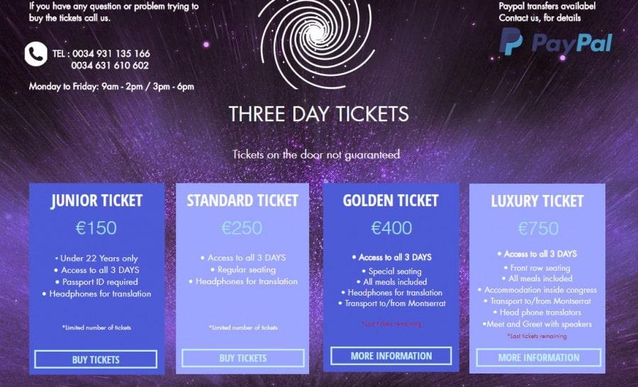 Tickets 900x546, Planeta Incógnito