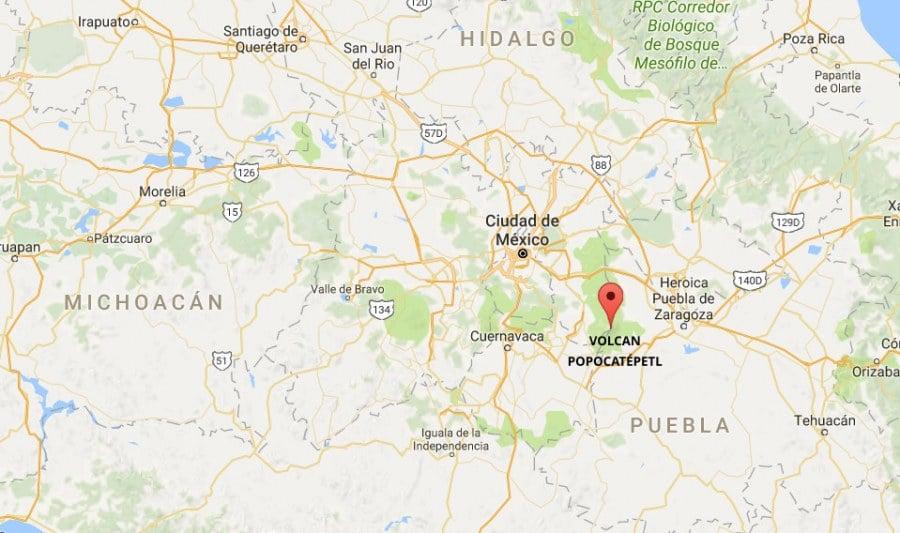 Volcanpopocatepetl 900x533, Planeta Incógnito
