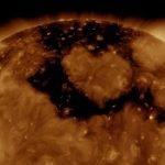 Una intensa tormenta solar magnética clase G1 para este viernes 13 7