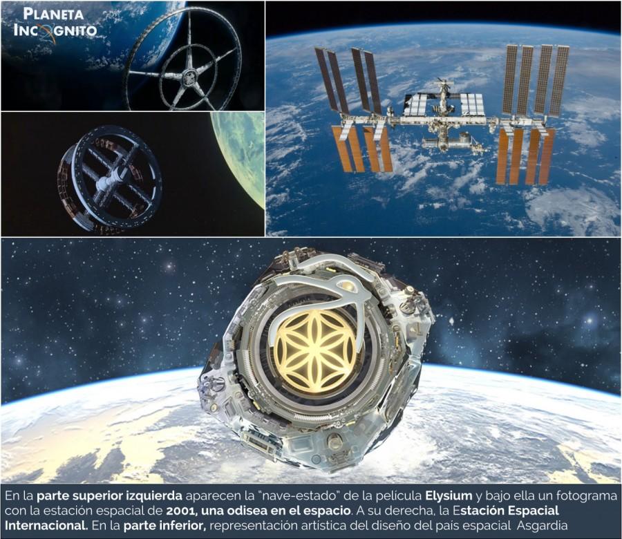 """ASGARDIA, la nación independiente espacial, pone su """"primera piedra"""" en el espacio 6"""