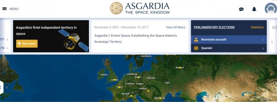 """ASGARDIA, la nación independiente espacial, pone su """"primera piedra"""" en el espacio 4"""