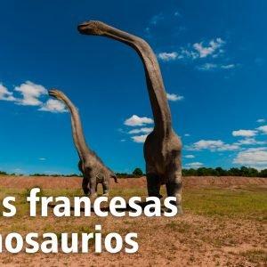 110 pisadas de Dinosaurio.  El Sendero más largo de estos reptiles está en Francia