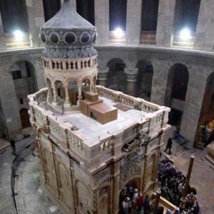 La tumba del Santo Sepulcro solo tiene 1700 años