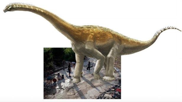 110 pisadas de Dinosaurio.  El Sendero más largo de estos reptiles está en Francia 3