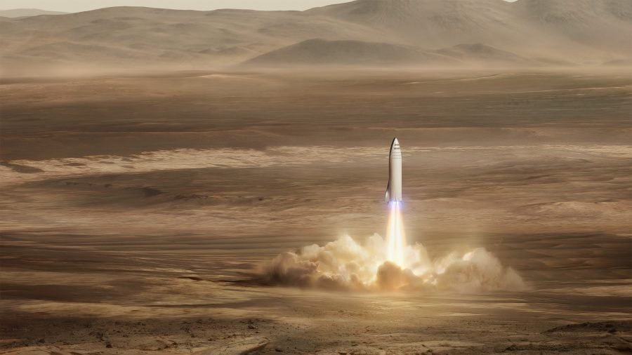 El gran cohete de Marte de SpaceX podría ayudar a perseguir al asteroide interestelar Oumuamua 3