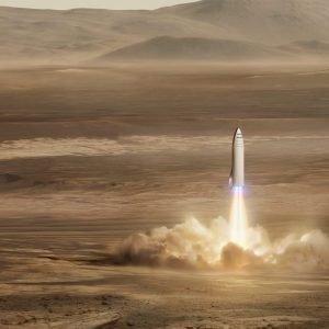 El gran cohete de Marte de SpaceX podría ayudar a perseguir al asteroide interestelar Oumuamua