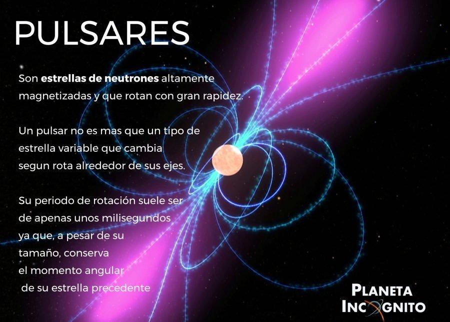 Pulsares 900x643, Planeta Incógnito