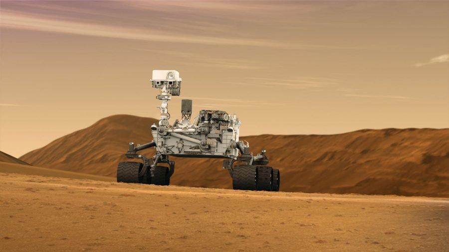 Nueva puesta de Sol de Marte, cortesía de la sonda Curiosity 2