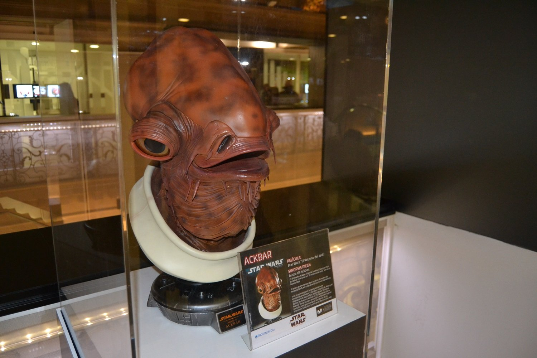 Inaugurada la exposición oficial de Star Wars en el edificio Telefónica de la Gran Vía en Madrid 4