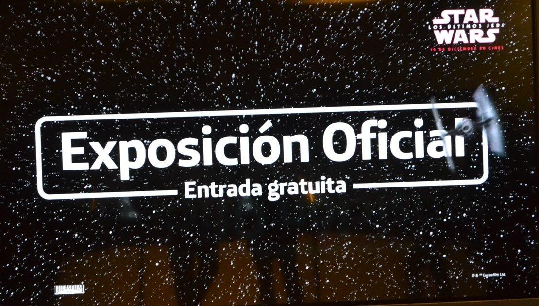 Inaugurada la exposición oficial de Star Wars en el edificio Telefónica de la Gran Vía en Madrid 1