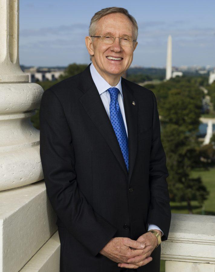 Fotografía del ex-senador norteamericano Harry Reid