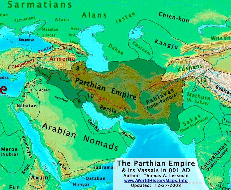 Las fotos de satélites espías revelan antiguos Imperios en Afganistán 2