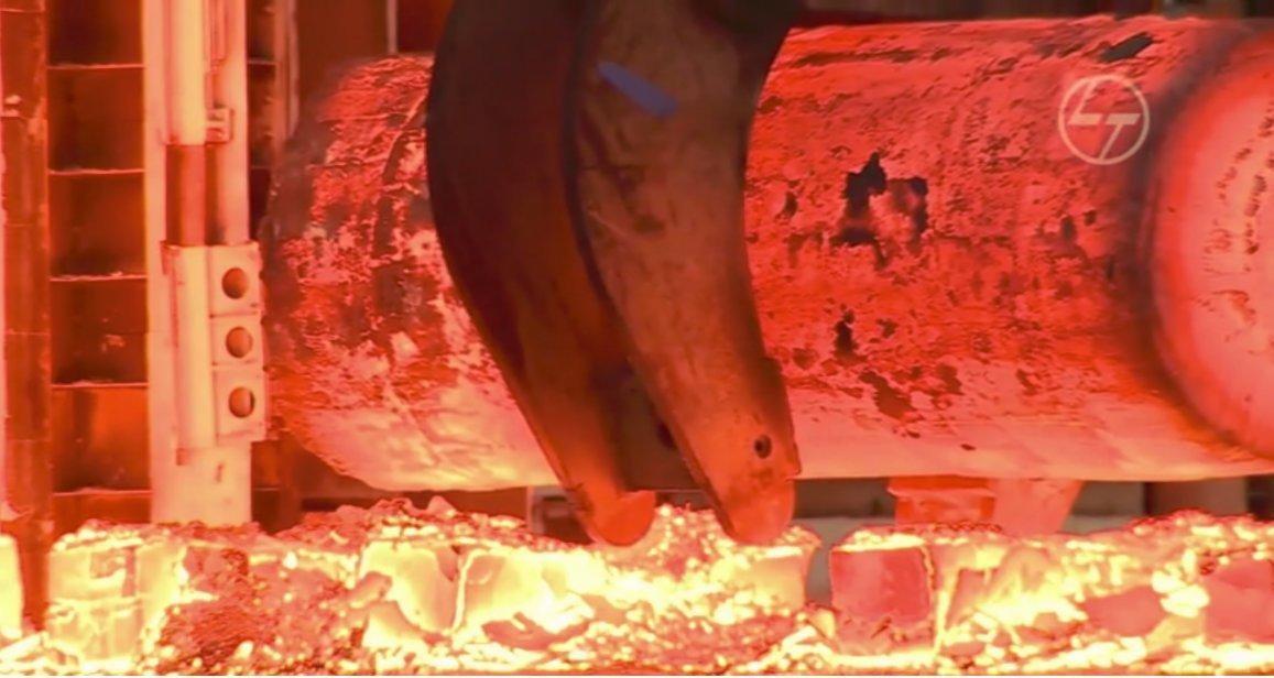 Fotograma del vídeo de la web del proyecto ITER. Proceso de Construcción