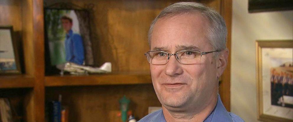David Fravor en una entrevista a ABC news