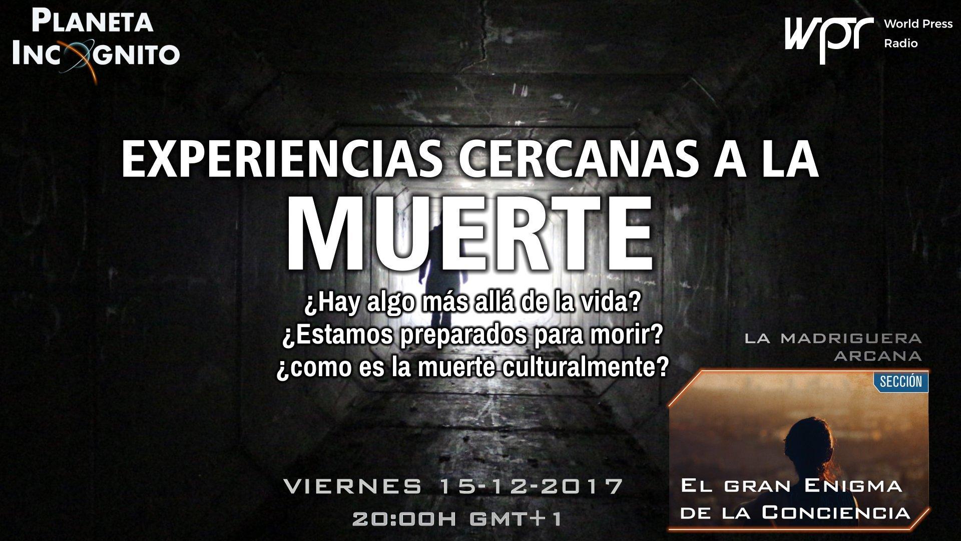 Programa 4x09 Experiencias Cercanas a la Muerte y el Gran Enigma de la Conciencia 1