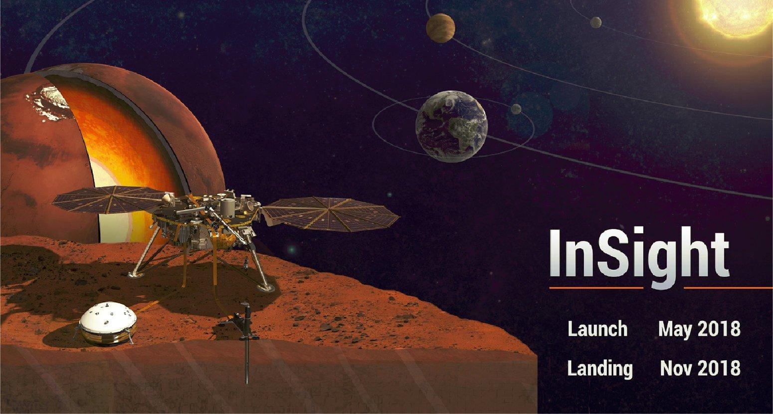 InSight, la nueva misión de la Nasa que se lanzará en Mayo de 2018 1