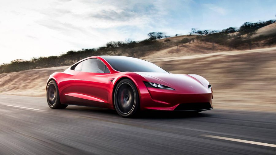El Flamante Tesla Roadster