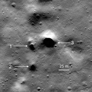 Entradas Confirmadas al subsuelo de la Luna. Pasadizos en el Polo Norte ¿o no?