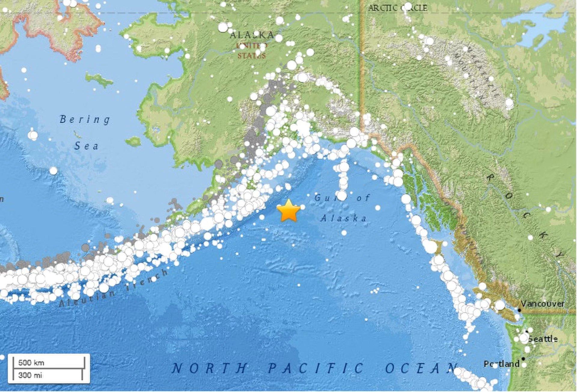 Un fuerte terremoto desencadenó esta mañana la alerta de Tsunami en Alaska y parte de E.E.U.U. 1