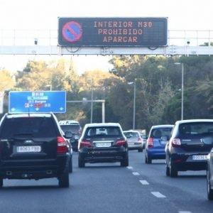 Madrid limitará circulación en función de nivel contaminante de los vehículos