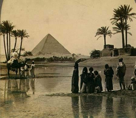 Cinco datos sorprendentes sobre las pirámides de Guiza 1