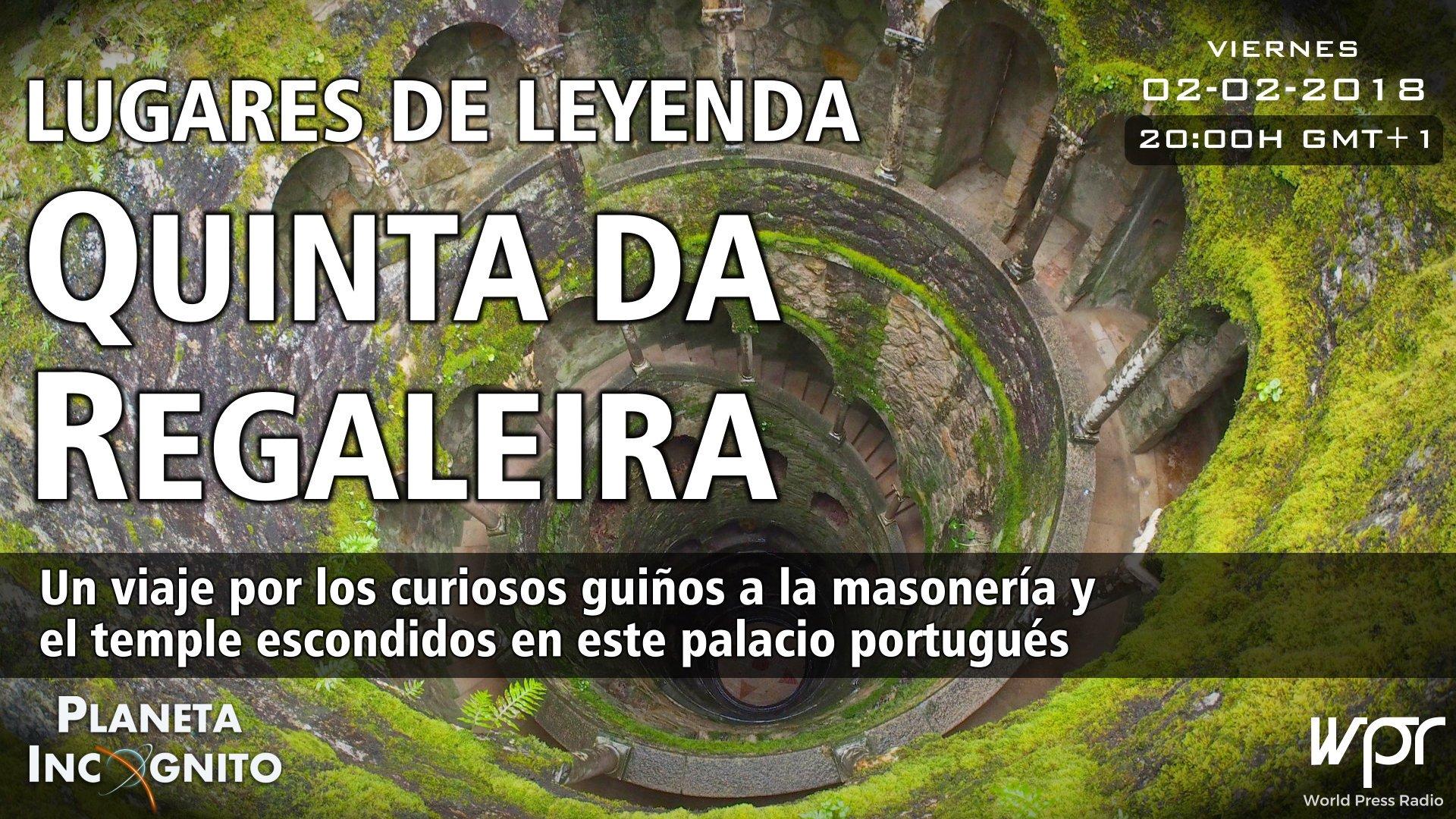 4X13 LUGARES DE LEYENDA : Quinta da Regaleira -PLANETA INCÓGNITO