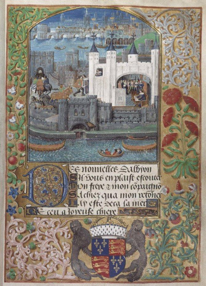 En febrero de 1477 Febrero Margery Brews escribió en inglés la carta de amor más antigua a su novio John Paston